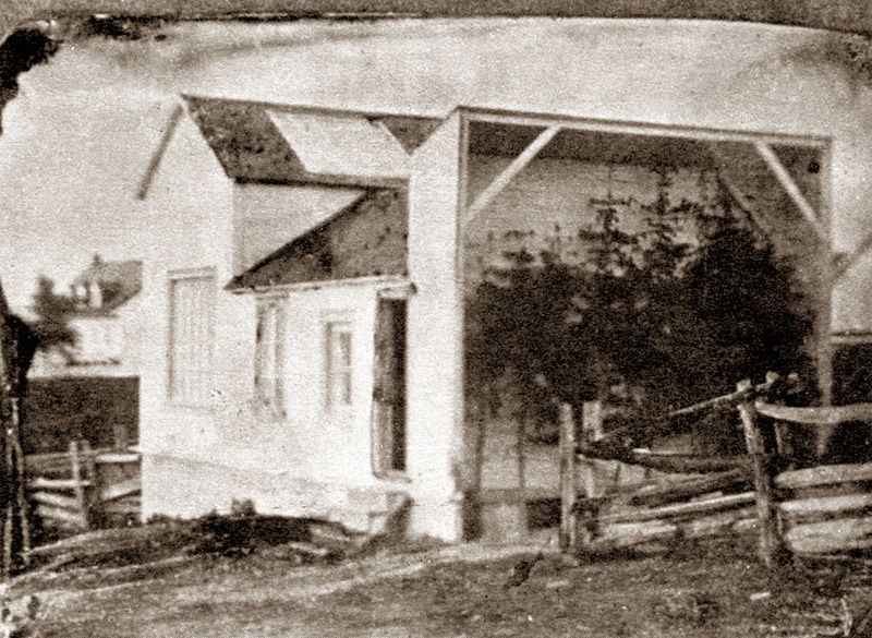 <p>Mercier Studio, around 1890.<br /><br />Artist and photographer Ernest Mercier had a studio near his family home to the west of Paul-&Eacute;mile Rivard&rsquo;s store.<br /><br />Photo source :<br />Souvenir Album of Cacouna 1825-1975</p>