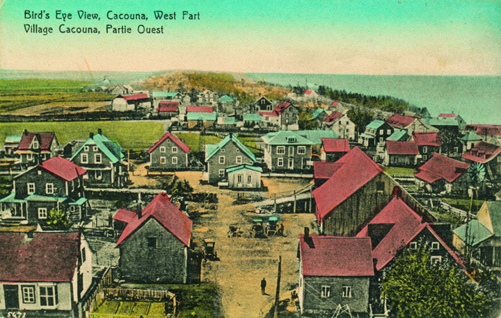 <p>This small coastal village in the Bas-Saint-Laurent was the Nelligan family&rsquo;s favourite destination for their summer holidays.<br /><br />Over a twelve-year period from 1886 to 1898, young &Eacute;mile visited Cacouna with his family for several extended stays. The family would arrive by boat or by train, the Grand Trunk Railway having begun service from L&eacute;vis to Rivi&egrave;re-du-Loup in 1860 and the Intercolonial Railway in 1876. With his mother, &Eacute;milie Amanda Hudon, and his two sisters, &Eacute;va and Gertrude, &Eacute;mile went on holiday in early July to return to Montreal in late August. This became somewhat of a tradition, as his father, David Nelligan, was deputy postal inspector for the Gasp&eacute;sie. Cacouna, being midway between Montr&eacute;al and Gasp&eacute;, was the perfect place for him to combine work with a family holiday. The family usually took rooms at Cacouna House, but sometimes David Nelligan rented a very elegant small private house for the summer, as a sort of country home.<br /><br />Photo source:<br />Poscard, West part of Cacouna circa 1925, &quot;Rivard Series&quot;, &eacute;diteur, Richard Michaud Collection<br />&nbsp;</p>