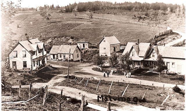 <p>C&#39;est ici que se trouvait le c&oelig;ur du village de Malvina vers la fin des ann&eacute;es 1800.</p>