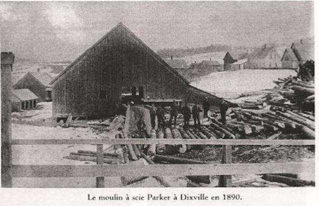 <p>En 1882, apr&egrave;s 40 ans au service des Baldwin, le barrage et le moulin &agrave; scie sont achet&eacute;s par Joshua J. Parker et Charles A. Wheeler de la firme J.J. Parker and Co.&nbsp; pour la somme de 8 500$.</p>