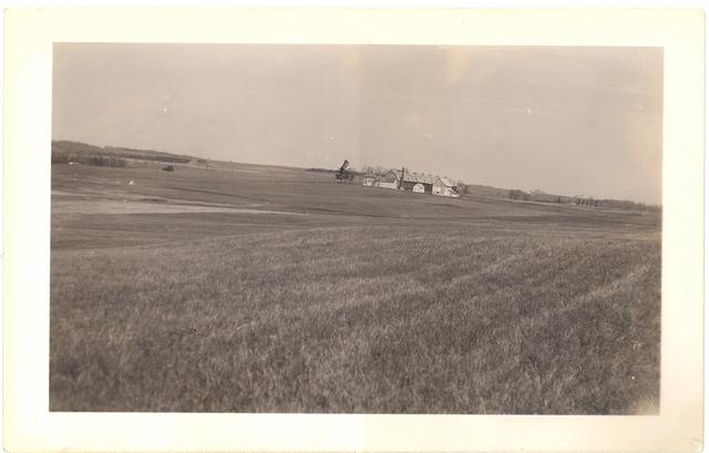 <p>Vue de la ferme, vers 1940</p>