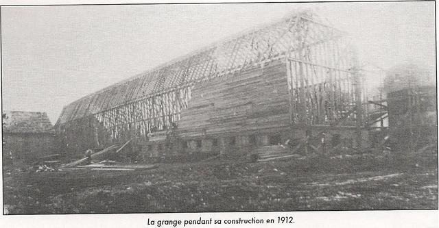 <p>The barn of the Ferme-du-Plateau was built in 1912. It originally measured 280 feet (85.3 meters).</p>