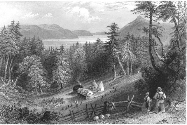 <p>The pioneers from the small community of Cassville, nicknamed the &quot;9 partners&quot;, arrived from the woods and built a village with hard work to then move their family from New Hampshire.</p>
