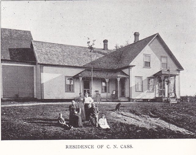 <p>One of the descendants of the Cass family who built his house on his ancestors&#39; lands. The Cass family has dozens, even hundreds, of descendants because there originally were 10 Cass brothers who were Simon Cass&#39;s children.</p>