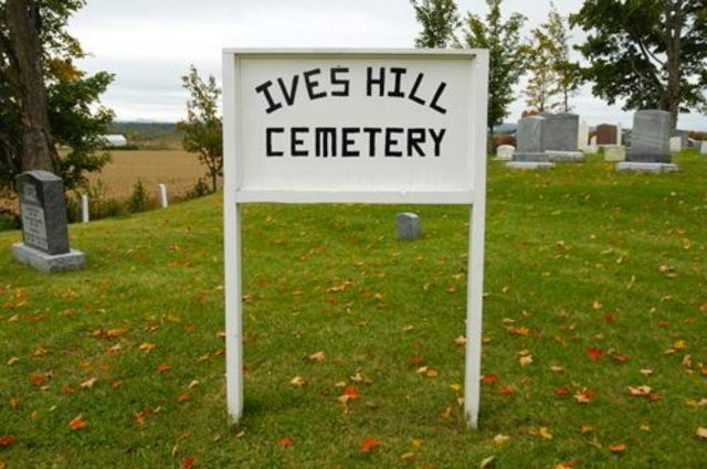 <p>The Ives Hill cemetery overflows with history, among them the Farwell and Ives families.</p>