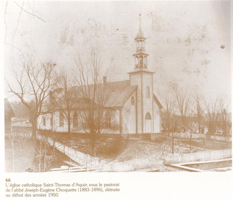 <p>L&rsquo;&eacute;glise de la paroisse de St-Thomas-d&rsquo;Aquin de Compton o&ugrave; l&rsquo;abb&eacute; Chartier fut cur&eacute; de 1863 &agrave; 1868.</p>