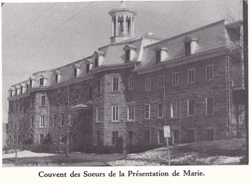 <p>The convent of the sisters of the Presentation of Mary was extended several times, but the original is still standing today.</p>