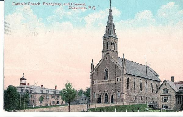 <p>The St-Edmond de Coaticook churh was inaugurated in 1888 during the Great Depression of 1873-1896 that plunged abbot Chartier and several other businessmen and merchants in bankruptcy.</p>