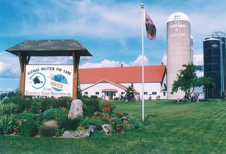 <p>Cette ferme est la fiert&eacute; agricole de la municipalit&eacute;</p>