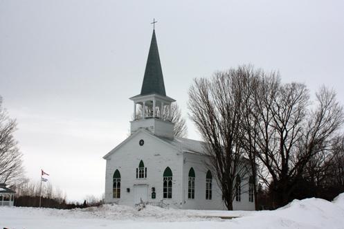 L'église Saint James est aussi belle qu'au jour où le pasteur Stewart l'a consacrée en 1833. C'est aujourd'hui la plus ancienne église de la région.
