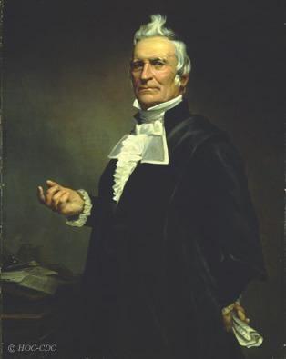Charles James Stewart a siégé au premier conseil d'administration de l'Académie avec Louis-Joseph Papineau (1786-1871), un catholique, en compagnie de baptistes et de méthodistes, ce qui était plutôt rare à l'époque.