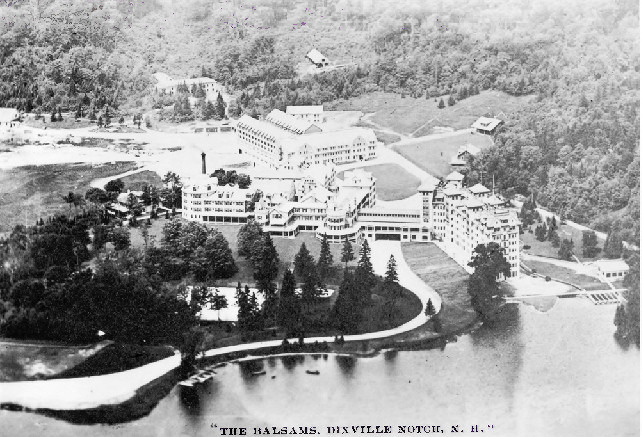 In 1954 Neil Tillotson acquired the Balsams Grand Resort in Dixville Notch, at an auction. Coming back to his roots, he settled in the region that had been left behind by his great-grandparents. His factory relocated its operations near the hotel, and this would be where the first latex medical glove was invented.