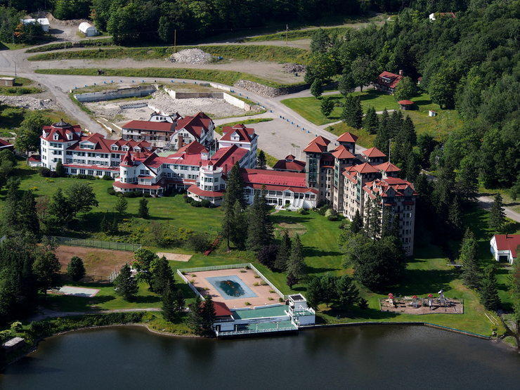 The Balsams Grand Hotel in Dixville Notch nowadays