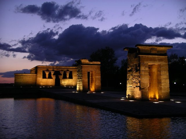 <p>Amun&#39;s Temple, built in Debod, is a Nubian temple of Ancient Egypt dating from the II century BC, dedicated to the Egyptian god, Amun.</p>