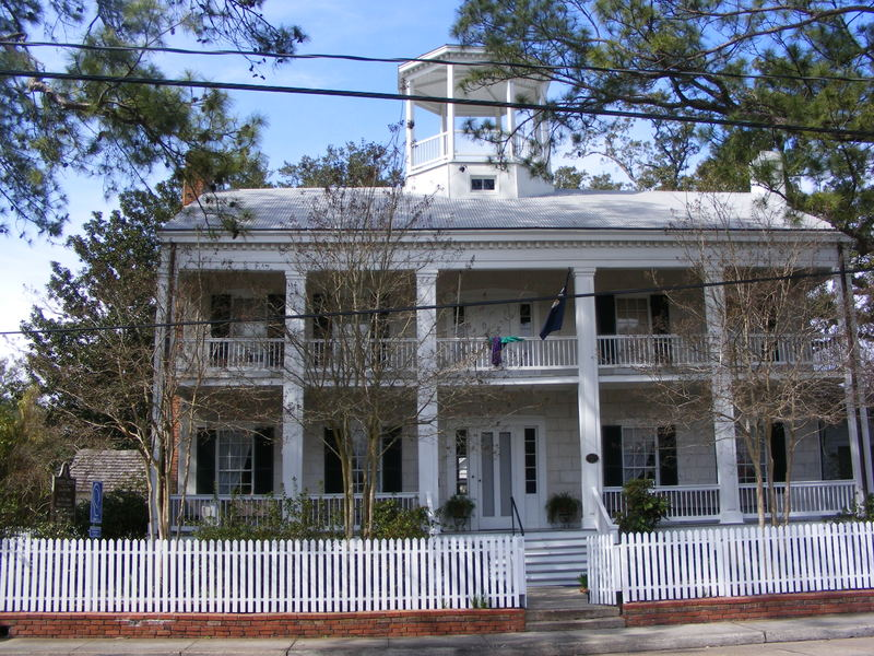 <p>La maison d&#39;Alexandre Mouton, Gouverneur de Louisiane / Governor of Louisiana Alexandre Mouton&#39;s home ( Today /aujourd&#39;hui)</p>