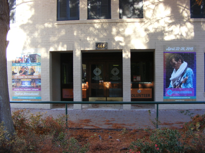<p>Home of the Festival international de Louisiane / Bureau du Festival international de Louisiane.</p>