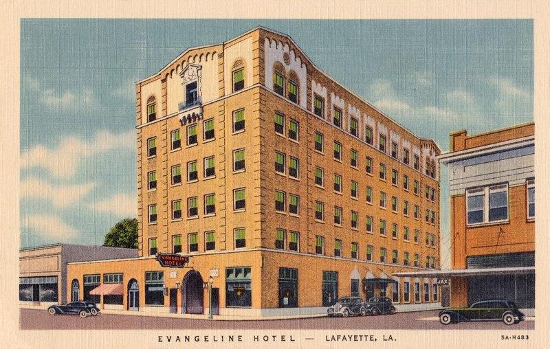 <p>Evangeline Hotel 1950 / H&ocirc;tel &Eacute;vangeline 1950</p>