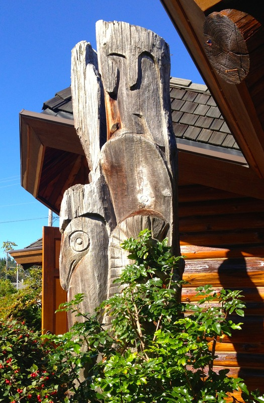 <p>Dudley Carter was a wood sculptor who made large-scale works using a double bladed woodsman&#39;s axe. He was born to a pioneer family in BC and eventually moved to Alert Bay where he was inspired by local Kwakwaka&rsquo;wakw (Kwakiutl) carvers. Carter was a participant in the &quot;Art in Action&quot; program during the 1939-40 Golden Gate International Exposition on Treasure Island in the middle of San Francisco Bay. During that time he became a friend of Mexican muralist Diego Rivera, who depicted Carter three separate times in his mural &ldquo;Uni&oacute;n de la Expresi&oacute;n Artistica del Norte y Sur de este Continente&rdquo; (Marriage of the Artistic Expression of the North and of the South on this Continent).</p>