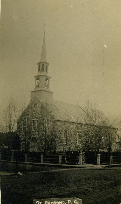 <p>&Eacute;glise construite en 1858 et d&eacute;molie en 1899.</p>