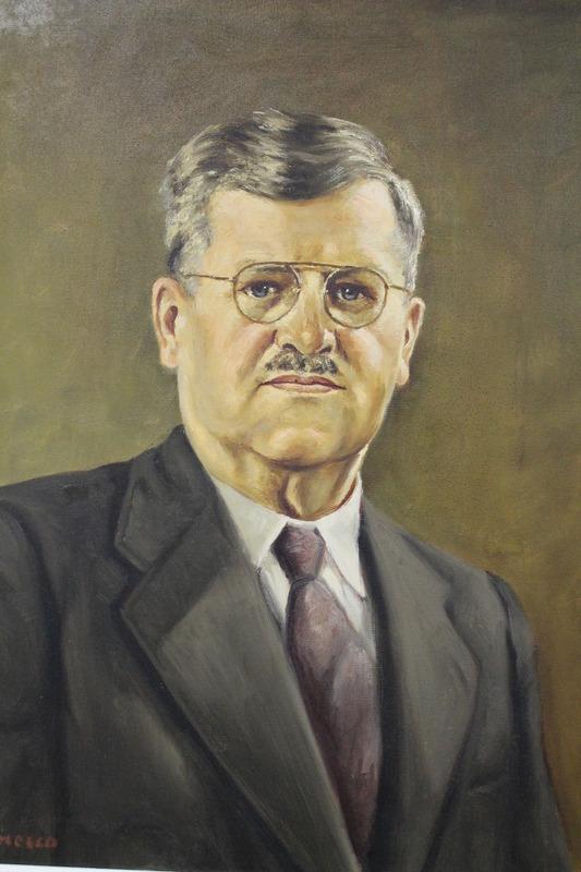 <p>Le dentiste Lucien Dufresne le 14 novembre 1934.</p>