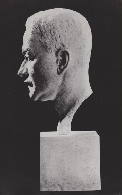 <p>Warwick Chapman&#39;s Bust, by Orson Wheeler.</p>