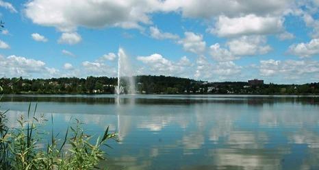 <p>Au milieu du 19e si&egrave;cle , des industriels am&eacute;ricains construisent des barrages sur la rivi&egrave;re Yamaska Nord afin d&rsquo;alimenter des moulins et une tannerie. Ces installations haussent le niveau de l&rsquo;eau, cr&eacute;ant le lac Boivin (appel&eacute; lac Granby &agrave; l&rsquo;&eacute;poque).<br /><br />&Agrave; son arriv&eacute;e en 1939, le maire Horace Boivin est nostalgique des activit&eacute;s de p&ecirc;che et de navigation de son enfance et il fait rehausser le niveau de l&#39;eau du lac.&nbsp;Ce color&eacute; maire Boivin a profond&eacute;ment marqu&eacute; l&#39;histoire de la r&eacute;gion en fondant, notamment, le Zoo de Granby.</p>