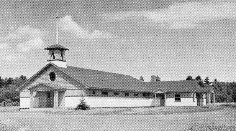 <p>La premi&egrave;re &eacute;glise de Saint-Laurent-du-Fleuve, dessin&eacute;e par l&rsquo;architecte F&eacute;lix Racicot, construite en 1949 et b&eacute;nite le 2 juillet 1950 par Monseigneur Forget.</p>