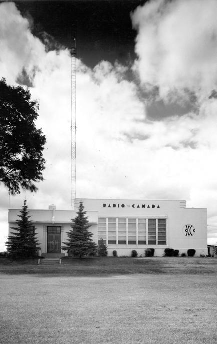 <p>L&#39;ancienne station &eacute;mettrice de Radio-Canada.<br /><br />Cr&eacute;dit photo: Mus&eacute;e qu&eacute;b&eacute;cois de la radio et les Archives de Radio-Canada</p>