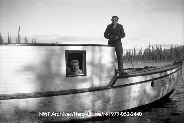<p>Henry Busse, photographer and owner of the Yellowknife Photo Service.<br /><br />Source photo: NWT Archives/Henri Busse/N-1979-052-2440.</p>