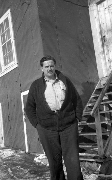 <p>Gordon Latham in 1946 or 1947.<br /><br />Sources:<br />Previous picture: NWT Archives/ City Council Fonds/N-1992-170-0129.<br />Current picture: NWT ArchivesRobert van&#39;t Hoff fondsN-1995-007 0008.</p>