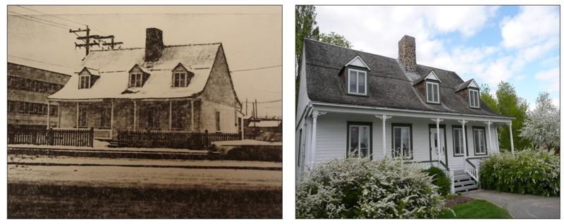 <p>&copy; Maison Dorion-Coulombe<br /><br />C&rsquo;est gr&acirc;ce &agrave; l&rsquo;architecte Ross Anderson que nous pouvons visiter la Maison Dorion-Coulombe aujourd&rsquo;hui. Il l&rsquo;acquiert en 1975 pour sa valeur architecturale et patrimoniale, la sauvant ainsi d&rsquo;une d&eacute;molition certaine. Son style est typique des maisons rurales qu&eacute;b&eacute;coises.</p>